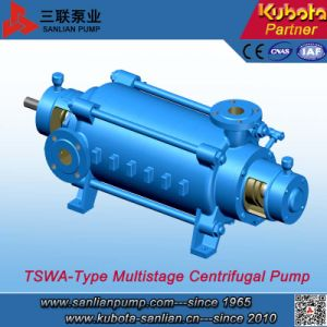 Tswa Type High Efficiency Horizontal Centrifugal Multistage Water Pump