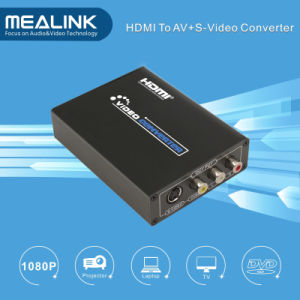 HDMI to AV RCA Composite+S-Video Converter pictures & photos
