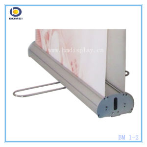 Aluminum Roll up Stand with Double Sides, Luxury Wide and Broader Base Pull up Banner, 100*200cm Roll up Size