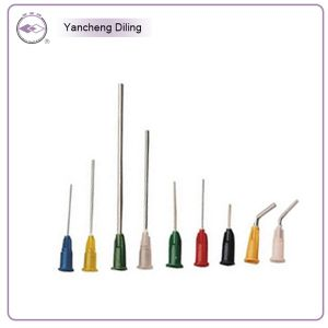 18g -25g Dental Disposable Blunt Prebent Tip Flushing Irrigation Needles (C4-2)