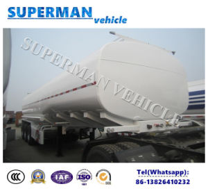 4 Compartments Fuel Tanker / Oil Transportation Semitrailer for Sale pictures & photos