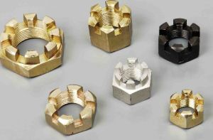 DIN979 Hexagon Slotted Thin Nuts pictures & photos