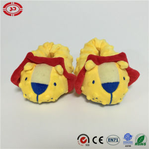 Baby Shoes Yellow Lion Foot Support Cute Gift Plush Shoes pictures & photos