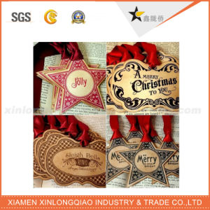 Wholesale Custom Christmas Cheap Printing Hang Tag pictures & photos