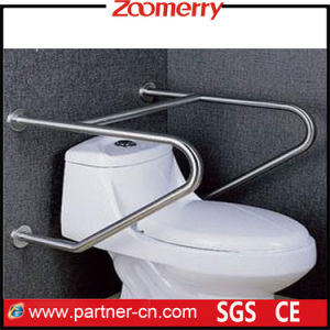 Stainless Steel 304 Toilet Safety Grab Bar for Handicapped pictures & photos