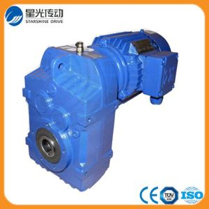F Series Hollow Shaft Parallel Shaft Helical Gearmotor pictures & photos