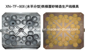Sand Lined Iron Mold Casting Line pictures & photos