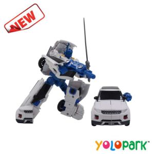 China 2016 New Items Intelligent Transformation Robot Car Toys For