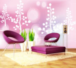 China PVC Wallpaper for Solvent Printing pictures & photos