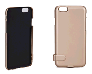 New Items - Mobile Phone Cover Gadget with Portable Power Bank for iPhone 6+
