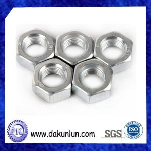 Customized Zinc Plating Hex Nut From Chinese Supplier
