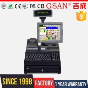 POS System Sales Point of Sale Till White Cash Register pictures & photos