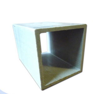 Fiberglass Square-Tube Pultruded Profiles, FRP/GRP Square Tube pictures & photos