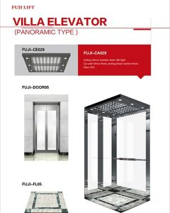 Classical Cabin Passenger Elevator with Double Handrail pictures & photos