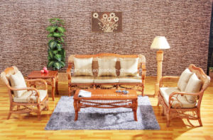 Classic Sofa Rattan Living Room Furniture Sets