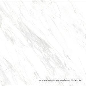 Exclusive Design Carrara White Marble Looking Luxury Ceramic Tile From Span Designer 600x600mm