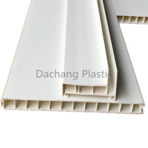 PVC Extrusion Bottom Board Profile for Wagon pictures & photos