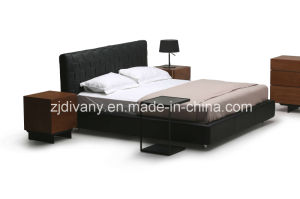 Modern Living Room Furniture Leather Bed (A-B41) pictures & photos