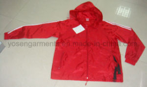 Ladies Outdoor Leisure Polyester Dust Coat Jacket Windbreaker (WB02)