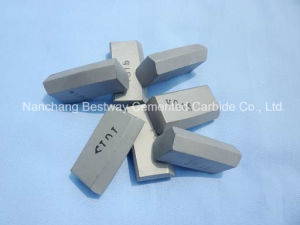 Yg15 Grade K034 Shining Tungsten Carbide Chisel Mining Tips for Rock Drilling pictures & photos