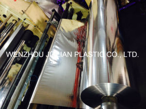 PVC Metalized Film / Silver/ Gold/ Colorful Film/ PVC Coating Film for Garland Decorations pictures & photos