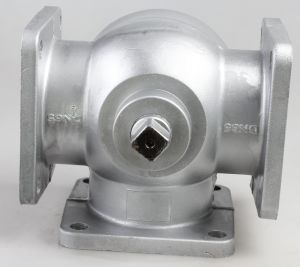 Tank Truck Tee-Type Three-Way Ball Valve with Flange Handle pictures & photos