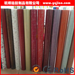 Grain Membrane High Glossy PVC Film pictures & photos