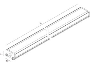 LED Lighting Bar Profile for Cabinet pictures & photos