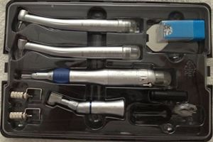 Dental Turbine Handpiece Oral Kit Ex203c Pana Max Wrench Type Handpieces pictures & photos