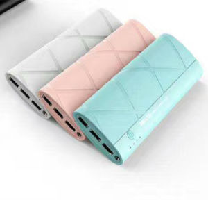 12000mAh  Mobile Power Bank with 3 USB Ports for Universal Portable Charger Supply pictures & photos