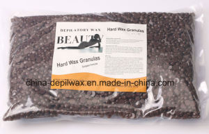 Chocolate Hard Wax Pellets Depilatory Wax with Wonderful Coca Butter Aroma pictures & photos