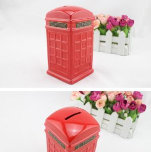 Hot Selling Popular Ceramic Telephone Box Money Coin Bank pictures & photos