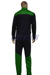 Factory OEM Plain Black Cotton Fitness Tracksuits for Winter (TJ017) pictures & photos
