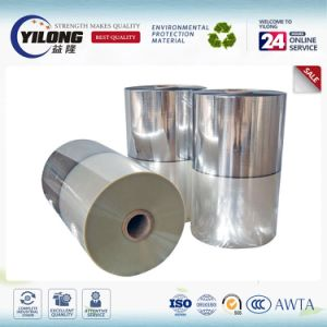 Gold/ Silver Cold Laminating Metallized Polyester Film 12 Micron Pet/PE