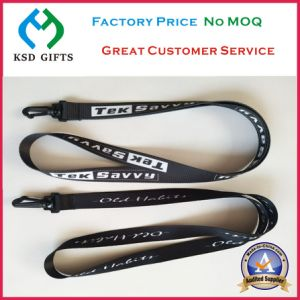 Screen Print Safety Lanyard with Plastic Hook (KSD-1150) pictures & photos
