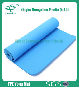 Printed TPE Yoga Mat for Promotional Gift