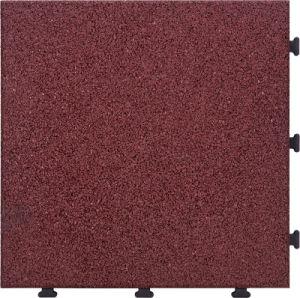 China RoHS Standard Kids Safety Rubber Tile Interlocking Non Slip ...
