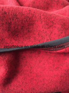 Knitted Polyester Fleece Fabric, Loop Gagt Knit Fabric pictures & photos