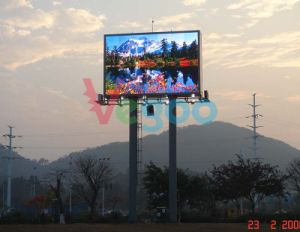 Outdoor Advertising Full Color LED Display Screen Cabinet P6