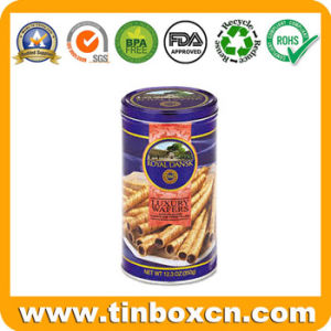 Custom Round Can, Food Tin Can for Cookie Packaging, Gift Tin pictures & photos