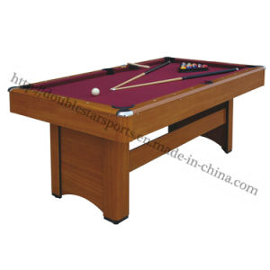 Hot Sale Sports 6FT Billiard Pool Table Zlb-P05 promotion pictures & photos