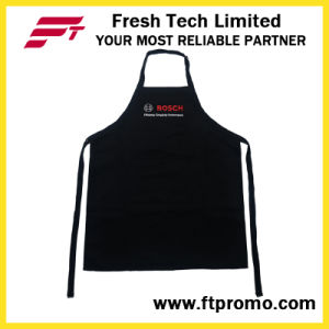 100% Polyester/Cotton OEM Custom Printed Promotional Kitchen Bib Apron pictures & photos