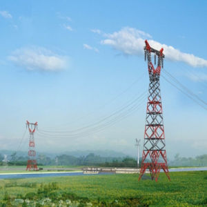 1000kv Transmission Tower, Steel Tower of Angular Type