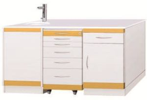 High Quality Mobile Cabinet Dental Cabinet (LUK-04) pictures & photos