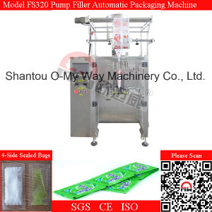 Shampoo Gel Sachet Linked Automatic Packing Machine pictures & photos