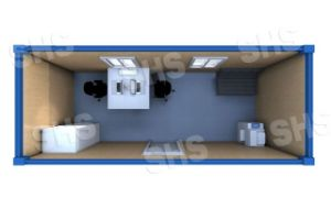 Trans Pack Container House/Container Accommodation/Container Dormitory (shs-fp-accommodation010) pictures & photos