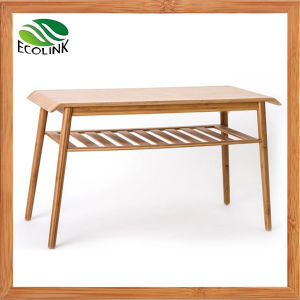 Modern Table Bamboo Table with Carbonized Bamboo pictures & photos