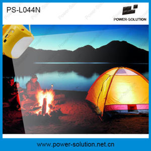 Portable 3.7V/2600mAh Lithium-Ion Solar Battery LED Solar Lamp with Phone Charging pictures & photos