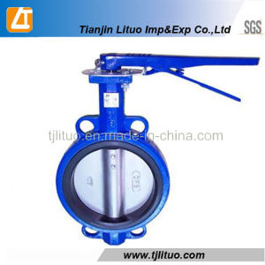 Casting Iron Material Butterfly Valves/Butterfly Valves Dn50 pictures & photos