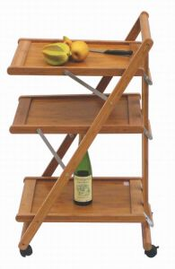 Bamboo Kitchen Trolley (HX1-3334)